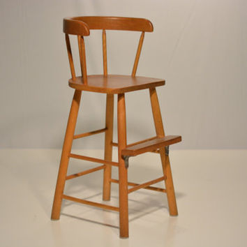 McCobb Style High Chair
