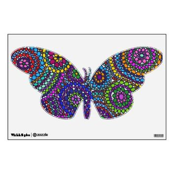 Supernatural Butterfly Wall Decal from Zazzle.com
