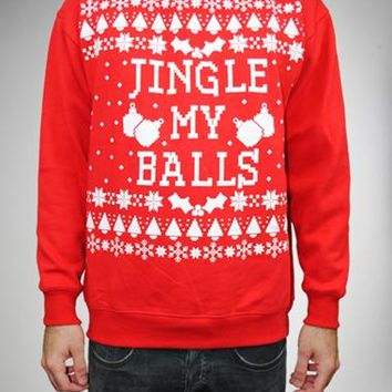 Spencers Ugly Christmas Sweaters.Ugly Jingle My Balls Sweater From Spencers Gifts Epic Wishlist