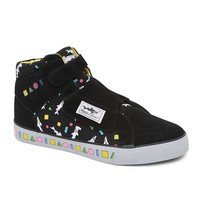 Maui & Sons Shark High Top Shoes - Mens Shoes - Black