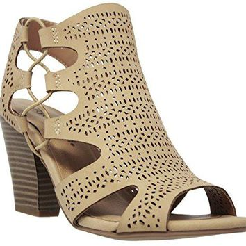 MVE Shoes Womens Platform Open Toe Ankle Strap High Heel Sandal
