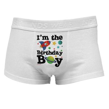 I'm the Birthday Boy - Outer Space Design Mens Cotton Trunk Underwear by TooLoud
