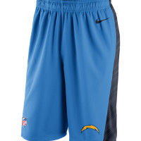 Nike Speed Fly XL 2.0 (NFL Chargers) Men's Training Shorts