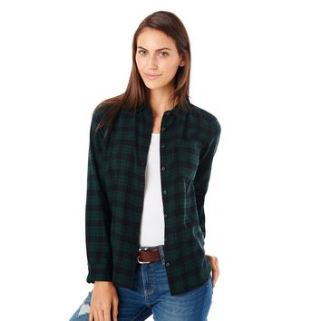 Tartan Plaid Flannel Shirt - G.H. Bass & Co.