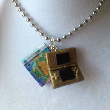 Nintendo DS and Game Necklace  -You Pick Any ds/3ds Game -