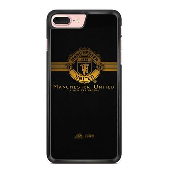 manchester united gold - Black Custom iPhone and samsung Case