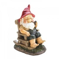Rocking Chair Gnome