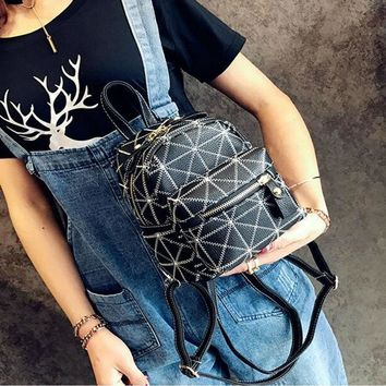 New Collection Elegant Mini Female Backpack Korean All-match fashionable Backpack Single-shoulder Backpack Messeger Backpack