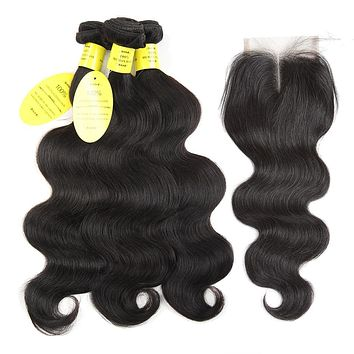 Brazilian Body Wave With Closure N