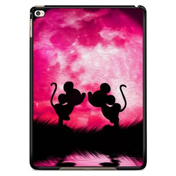 Mickey Minnie Mouse Silhouette W4418 iPad Air 2  Case