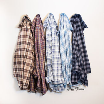 Mystery Oversized Vintage Flannel Shirt