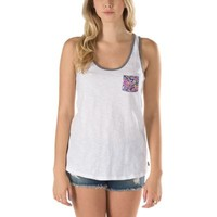 Vans Effigy Racer Tank (White Flower)