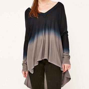Pins & Needles Dip Dye Trapeze Top - Urban Outfitters