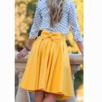 FASHION CUTE BOW SKIRT