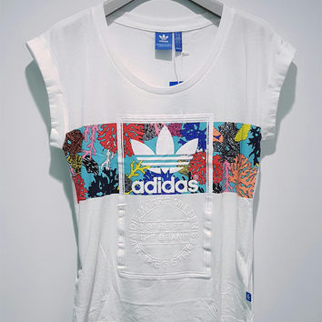 Adidas Originals Women Fashion Leisure T-Shirt