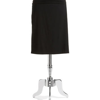 Eileen Fisher Plus Plus Fold Over Pencil Skirt