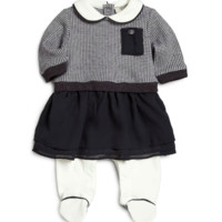 Armani Baby Navy Dress-Onesuit