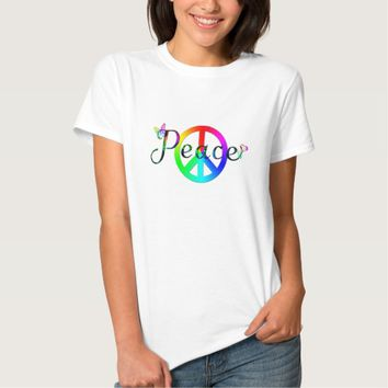 Rainbow Peace T-Shirt