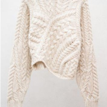 Versus Ecru Pullover by Isabel Marant at HEIST