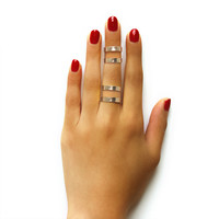 Double Line Cleopatra Ring