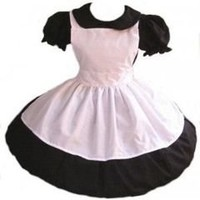 Gothic Alice in Wonderland Dress and Apron - MGD Clothing
