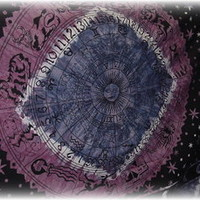 TrippyStore.com - Circle Zodiac - Tapestry
