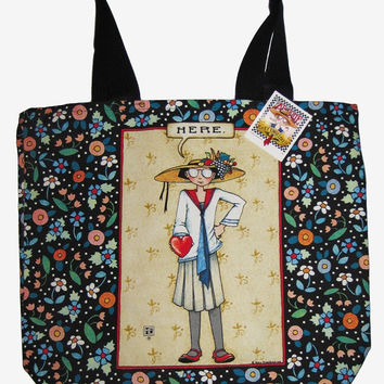 Mary Engelbreit Here Tote-MT1