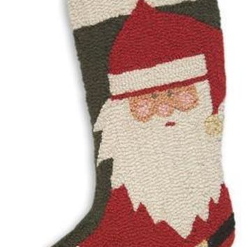 "17"" Christmas Stocking with Santa Claus!"
