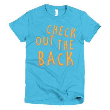 """Check Me Out"" Women's Tee"