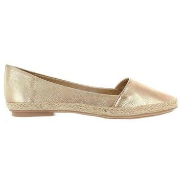 Chelsea Crew Blake   Gold Slip On Flat