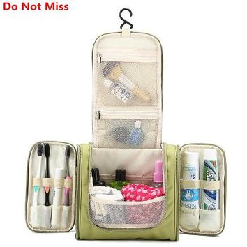 Do Not Miss Travel Wash Gargle Bag Portable Wash Makeup Organizer Bag High Capacity Women Big Cosmetic Bags Wholesale free ship