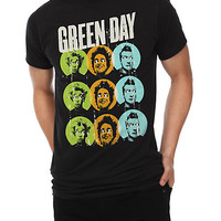 Green Day Dots Slim-Fit T-Shirt | Hot Topic