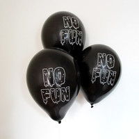 No Fun Party Balloons