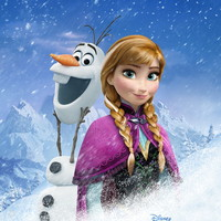 Frozen 1 (2013) Movie Poster Printed on Premium Photo Paper. 27 X 40 V014