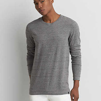 AEO Longline T-Shirt, Dark Gray