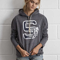 Tailgate PSU Oversize Hoodie, Charcoal