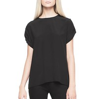 Versace - Button Side Sleeve Blouse