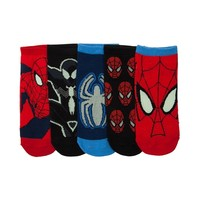 Youth Spider-Man Glow Socks 5 Pack