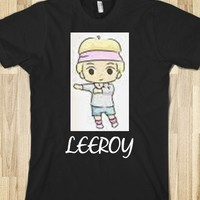 LEEROY CARTOON