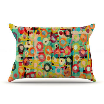 "Bri Buckley ""Gift Wrapped"" Crazy Abstract Pillow Sham"