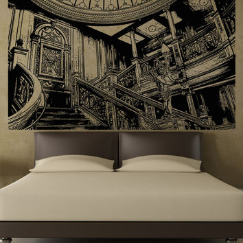 Vinyl Wall Decal Sticker Titanic Interior #5286