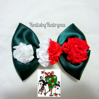 Painting the Roses Red - Disney Alice in Wonderland Inspired Hair Bow