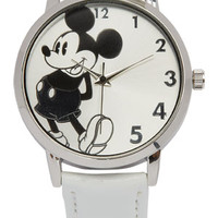 Mickey Watch - White