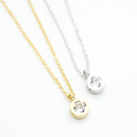 Clover mini necklace