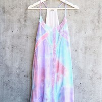 final sale - indie day sundress - tie dye