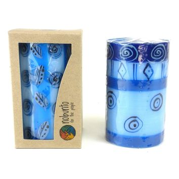 Hand Painted Candle - Single in Box - Feruzi Design - Nobunto