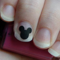 Mickey mouse nail art viny decal stickers set of 25