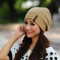 Hot Sale 2015 Fashion hat Women winter hat knitted hat winter hat knitted women's 3 Colors = 1958053124