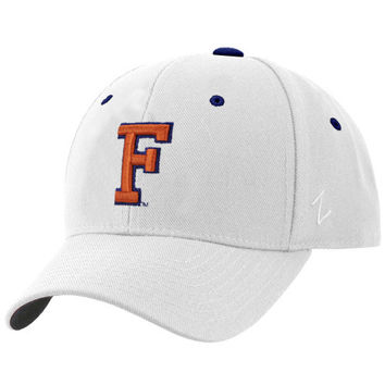Zephyr Florida Gators White DH Fitted Hat