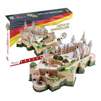 3D puzzle paper model Germany castle of hohenzollern